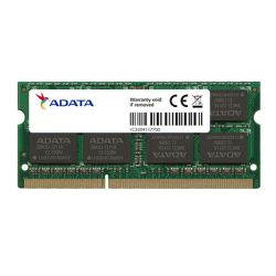 ADATA Premier 4GB, DDR3, 1600MHz PC3-12800, CL11, SODIMM Memory, Single Rank