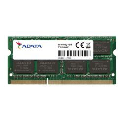 ADATA 8GB, DDR3L, 1600MHz PC3-12800, CL11, SODIMM Memory *Low Voltage 1.35V*