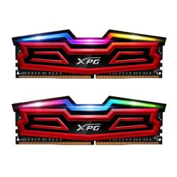 ADATA XPG Spectrix D40 RGB LED 16GB Kit 2 x 8GB, DDR4, 3000MHz PC4-24000, CL16, DIMM Memory