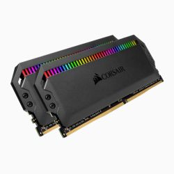 Corsair Dominator Platinum RGB 16GB Kit (2 x 8GB), DDR4, 3000MHz (PC4-24000), CL15, XMP 2.0, DIMM Memory