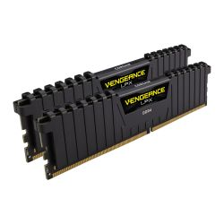 Corsair Vengeance LPX 16GB Kit (2 x 8GB), DDR4, 2666MHz (PC4-21300), CL16, XMP 2.0, DIMM Memory