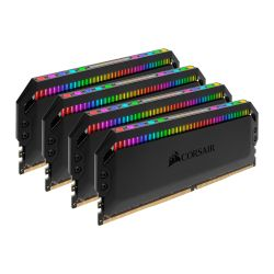 Corsair Dominator Platinum RGB 32GB Kit 4 x 8GB, DDR4, 3200MHz PC4-25600, CL16, XMP 2.0, DIMM Memory