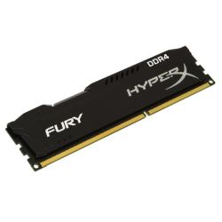 HyperX Fury Black 4GB, DDR4, 2133MHz PC4-17000, CL14, DIMM Memory, Single Rank