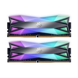 ADATA XPG Spectrix D60G RGB LED 16GB Kit (2 x 8GB), DDR4, 3200MHz (PC4-25600) CL16, XMP 2.0, DIMM Memory
