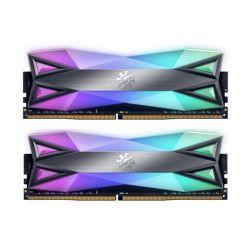 ADATA XPG Spectrix D60G RGB LED 16GB (2 x 8GB), DDR4, 3200MHz (PC4-25600) CL16, XMP 2.0, DIMM Memory