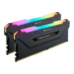 Corsair Vengeance RGB Pro 16GB Memory Kit (2 x 8GB), DDR4, 3600MHz (PC4-28800), CL18, XMP 2.0, DIMM Memory