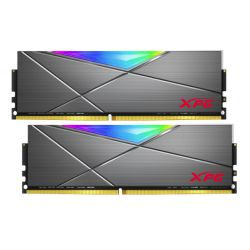 ADATA XPG Spectrix D50 RGB LED 16GB Kit (2 x 8GB), DDR4, 4133MHz (PC4-33000), CL19, XMP 2.0, DIMM Memory