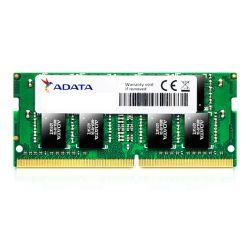 ADATA Premier 4GB, DDR4, 2400MHz (PC4-19200), CL17, SODIMM Memory, 512x8