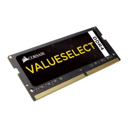 Corsair Value Select, 8GB, DDR4, 2133MHz PC4-17000, CL15, SODIMM Memory