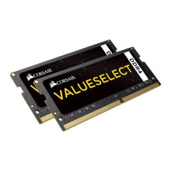 Corsair Value Select 8GB Kit 2 x 4GB, DDR4, 2133MHz PC4-17000, CL15, SODIMM Memory