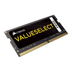 Corsair Value Select, 4GB, DDR4, 2133MHz PC4-17000, CL15, SODIMM Memory