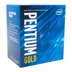 Intel Pentium G5400 CPU, 1151, 3.7GHz, Dual Core, 54W, 14nm, 4MB Cache, HD GFX, 8 GTs, Coffee Lake