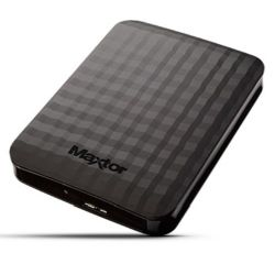 Maxtor M3 Portable 1TB External Hard Drive, 2.5, USB 3.0, Black