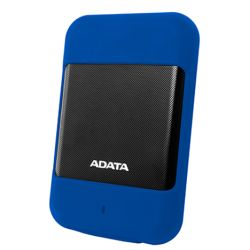 ADATA 1TB HD700 Rugged External Hard Drive, 2.5, USB 3.0, IP56 WaterDust Proof, Shock Proof, Blue