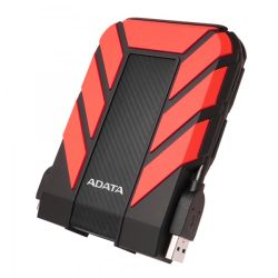 ADATA 1TB HD710 Pro Rugged External Hard Drive, 2.5, USB 3.1, IP68 WaterDust Proof, Shock Proof, Red