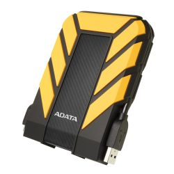 ADATA 1TB HD710 Pro Rugged External Hard Drive, 2.5, USB 3.1, IP68 WaterDust Proof, Shock Proof, Yellow