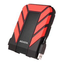 "ADATA 2TB HD710 Pro Rugged External Hard Drive, 2.5"", USB 3.1, IP68 Water/Dust Proof, Shock Proof, Red"