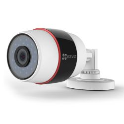 EZVIZ PoE 1080P C3S POE Outdoor Bullet Camera, 4mm Lens, 30m Night Vision, IP66, Micro SDCloud Storage