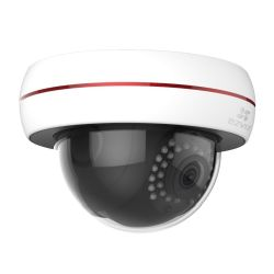EZVIZ PoE 1080P C4S POE Outdoor  Dome Camera, 4mm Lens, 30m Night Vision, Vandal Proof, IP66, Micro SD