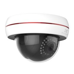 EZVIZ Wireless 1080P C4S Wi-Fi Outdoor Dome Camera, 4mm Lens, 30m Night Vision, Vandal Proof, IP66, Micro SDCloud Storage