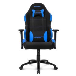 AKRacing Core Series EX-Wide Gaming Chair, Black & Blue, 510 Year Warranty