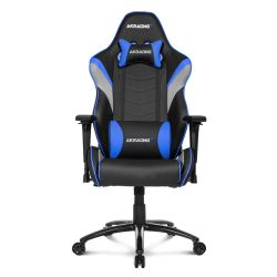 AKRacing Core Series LX Gaming Chair, Black & Blue, 510 Year Warranty