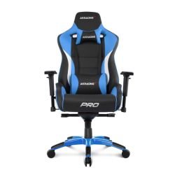 AKRacing Masters Series Pro Gaming Chair, Black & Blue, 510 Year Warranty