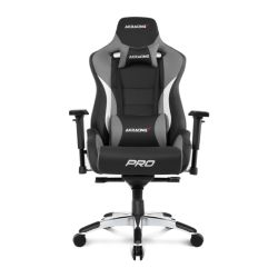 AKRacing Masters Series Pro Gaming Chair, Black & Grey, 510 Year Warranty