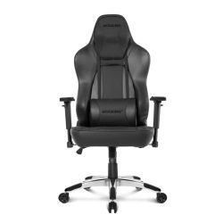 AKRacing Office Series Obsidian Gaming Chair, Black, 510 Year Warranty