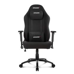 AKRacing Office Series Opal Gaming Chair, Black, 510 Year Warranty