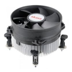 Akasa AK-7101CP Heatsink and Fan, Sockets 775, 115x, 1200, Heatsink and Fan, PWM Fan, Ultra Quiet