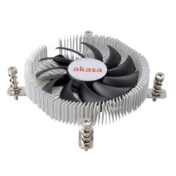 Akasa AK- AK-CC7129BP01 Ultra Compact Heatsink and Fan, 775, 115X, PWM Fan, 21mm High