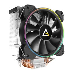 Antec A400 RGB Heatsink & Fan, Intel & AMD Sockets, Silent RGB PWM Fan, Direct-Touch Heat Pipes