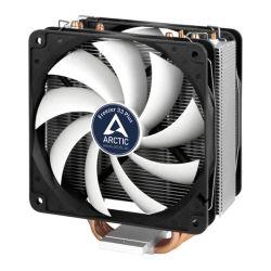 Arctic Freezer 33 Plus Semi Passive Heatsink & Fan, Intel & AM4 Sockets, Dual Ball Dynamic Bearing, 6 Year Warranty