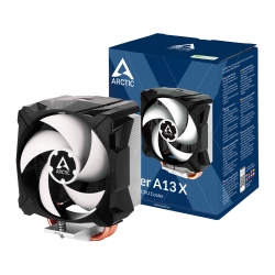 Arctic Freezer A13 X Compact Heatsink & Fan, AMD AM4, 92mm PWM Fan, Fluid Dynamic Bearing, 150W TDP, 6 Year Warranty