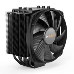 Be Quiet! BK021 Dark Rock 4 Heatsink & Fan, Intel & AMD Sockets, Silent Wings Fan, Fluid Dynamic