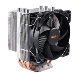 Be Quiet! BK008 Pure Rock Slim Heatsink & Fan, Intel & AMD Sockets, 9.2cm PWM Fan