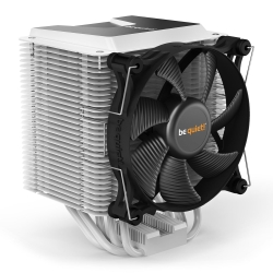 Be Quiet! BK004 Shadow Rock 3 Heatsink & Fan, Intel & AMD Sockets, Shadow Wings 2 Fan, 190W TDP, White
