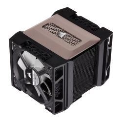 Corsair A500 Dual Fan Heatsink & Fan, Intel & AMD, Dual ML120 PWM Fans, Magnetic Bearing, 4 Direct Touch Copper Heatpipes