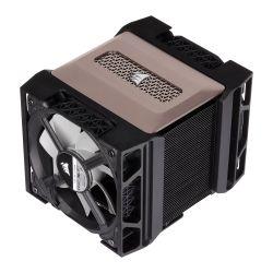 Corsair A500 Dual Fan Heatsink & Fan, Intel & AMD, Dual ML120 PWM Fans, Magnetic Bearing, 4 Direct Touch Copper Heatpipes
