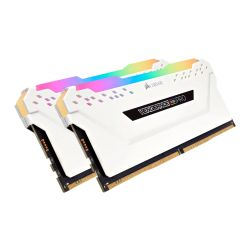 Corsair Vengeance RGB PRO Light Enhancement Kit - 2 x Dummy DDR4 Memory Modules with Addressable RGB LEDs, White