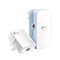 TP-LINK (TL-WPA7517 KIT) AC750 Wireless Dual Band Powerline Adapter Kit, AV2 1000, 1-Port