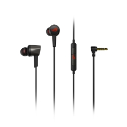 Asus ROG Cetra II Core Gaming In-Ear Earset, 3.5mm Jack, Inline Microphone, Liquid Silicone Rubber, Carry Case