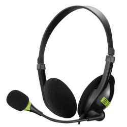 Sandberg USB Headset with Boom Microphone, In-line Controls, 5 Year Warranty