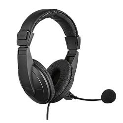 Sandberg USB Headset with Boom Mic, 40mm Drivers,  In-Line Volume Controls, 5 Year Warranty