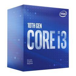 Intel Core I3-10100F CPU, 1200, 3.6 GHz (4.3 Turbo), Quad Core, 65W, 14nm, 6MB Cache, Comet Lake, NO GRAPHICS