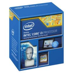 Intel Core I3-4130 CPU, Dual Core, 1150, 54W, 3.4GHz, 3MB Cache, 22nm, HD GFX, Haswell