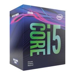 Intel Core i5-9400F CPU, 1151, 2.9 GHz 4.1 Turbo, 6-Core, 65W, 14nm, 9MB Cache, Coffee Lake Refresh *NO GRAPHICS*