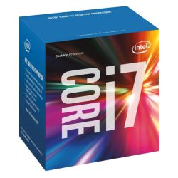 Intel Core I7-7700 CPU, 1151, 3.6 GHz, Quad Core, 65W, 14nm, 6MB Cache, HD GFX, 8 GTs, Kaby Lake