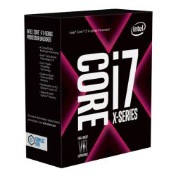 Intel Core I7-7820X CPU, 2066, 3.60GHz (4.3 Turbo), 8-Core, 140W, 11MB Cache, Overclockable, No Graphics, Sky Lake, NO HEATSINK/FAN